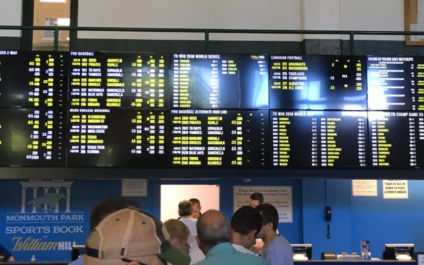 Sports betting in new jersey monmouth park forecasting football results and the efficiency of fixed-odds betting